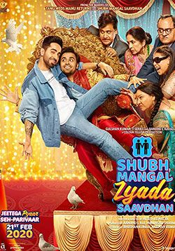 Shubh Mangal Zyada Saavdhan Movie Cast Trailer Songs Reviews Ratings