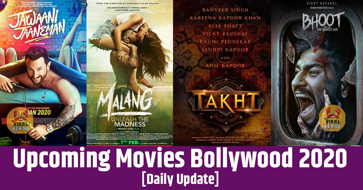 Upcoming Movies Bollywood 2020