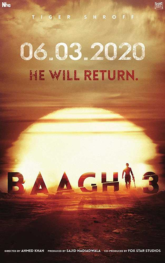 Baaghi 3 2020 Bollywood Movie poster 5