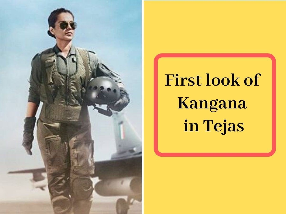 'Tejas-Kangana Ranaut': Indian Air Force pilot