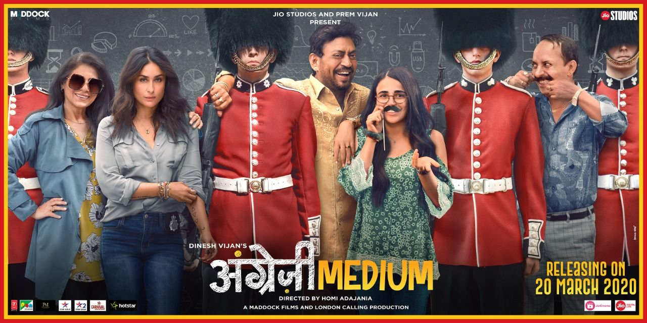 Angrezi Medium Bollywood Movie 2020, Photos, Videos, Full Movie Watch Online Free Down Load Leaked By Tamilrockers, Down Load Torrent Telegram File Link