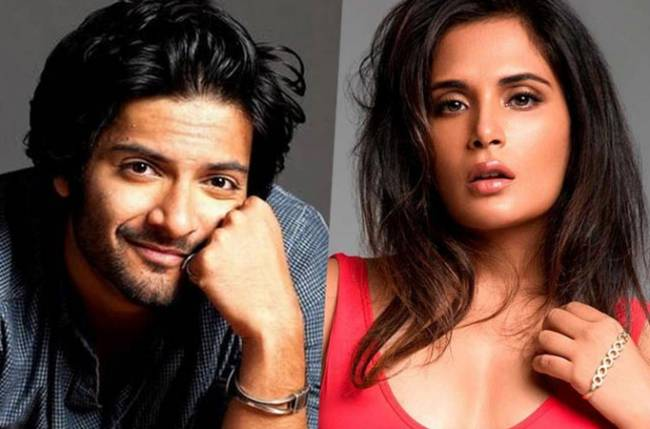 Richa Chadha and Ali Fazal getting married; June or July?