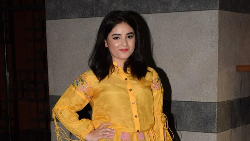 Left Bollywood after 5 year- Zaira Wasim, Dangal Girl