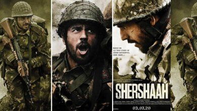 Shershaah Bollywood Movie Poster Shershaah Full Movie Download 720p Leaked by Tamilrockers 2020