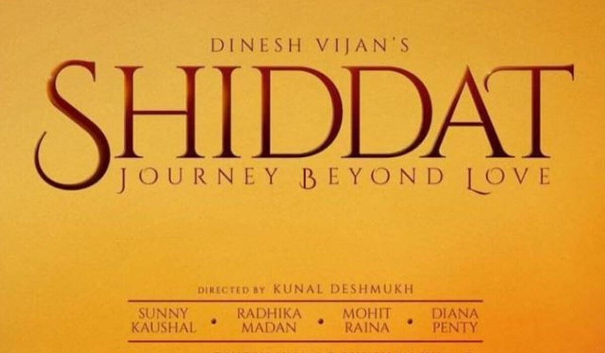 Shiddat 2020 Bollywood Hindi Upcoming Movie Cast Wiki Trailer Videos Songs Review Imdb Actor Actress Photo Watch Full Movie Online Download