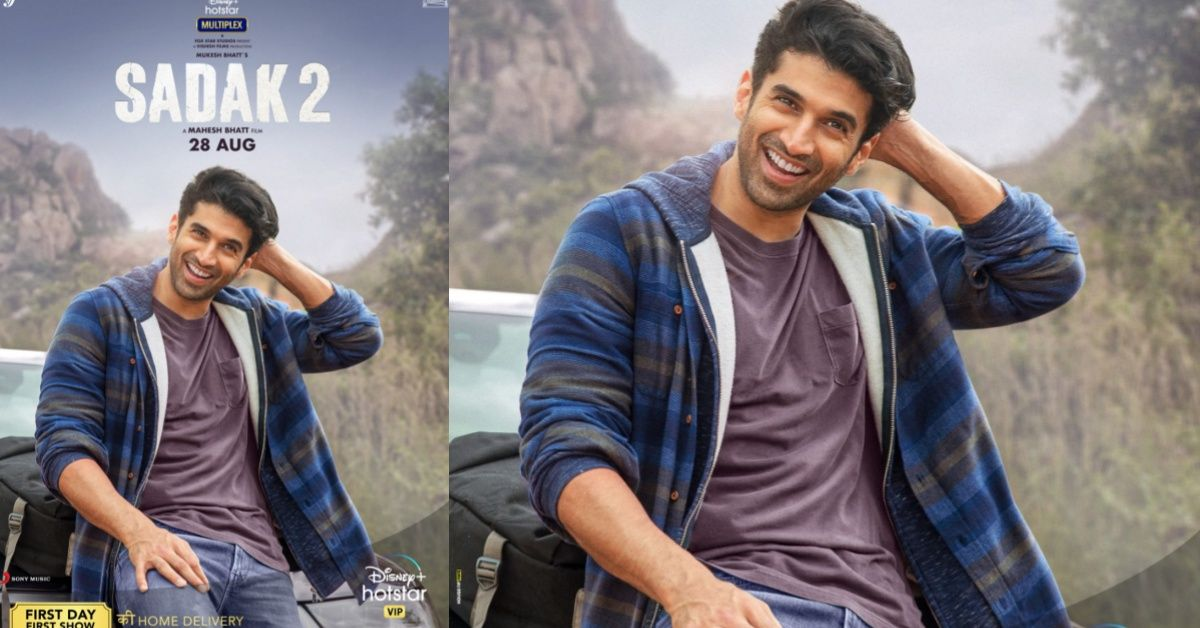 New look of Aditya Roy Kapur in 'Sadak 2' is sure to get heads turned ! | Viral Kekda