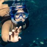 Ileana D'Cruz Bollywood Actress Bikini Photos in Under Water while Swimming