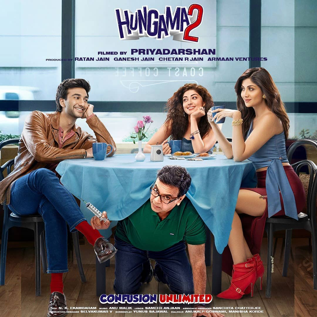 Hungama 2 Movie 2021 Cast Wiki Trailer poster Release Date News Update Actress Name Actors Leaked Full Movie Watch Online Tamilrockers Filmyzilla Shilpa Shetty Paresh Rawal