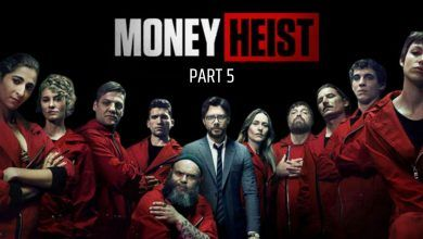 Money Heist Season 5 Release Date in India, Cast, Trailer, All Episodes in Hindi, Actress Real Name, Hindi Dubbed Download Filmyzilla