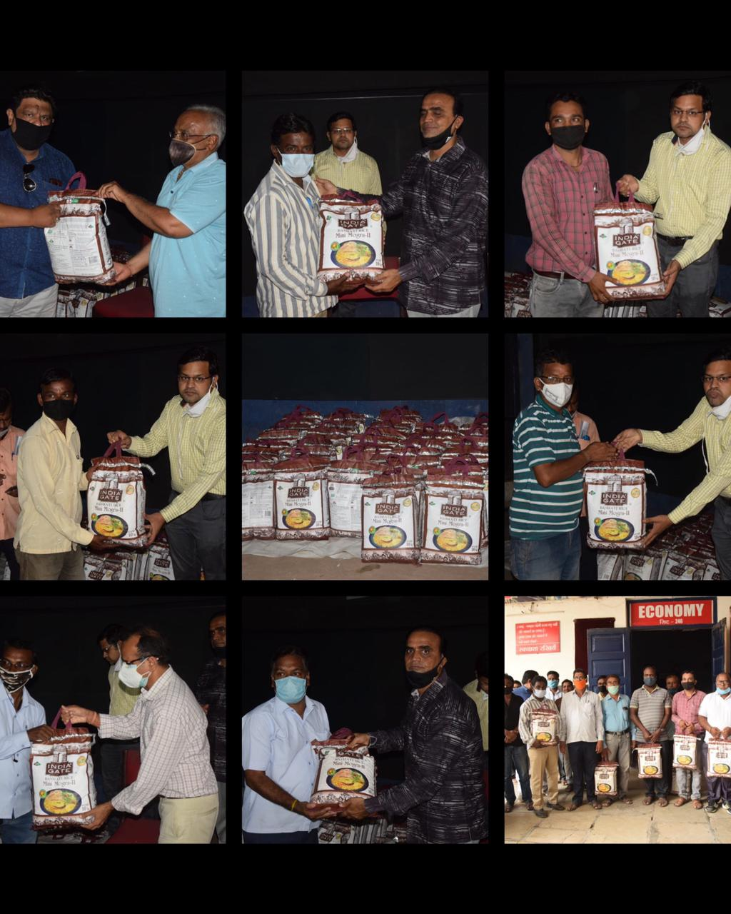 Tisca Chopra Donates Rice Packets To Theatre Workers In Interior Maharashtra Suffering From The Pandemic