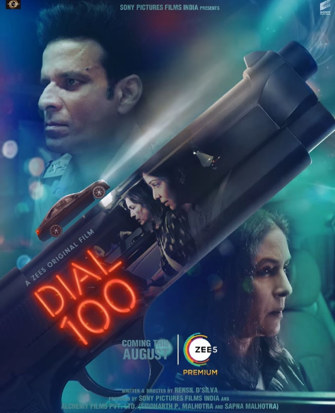 Dial 100 Zee5 Movie Poster