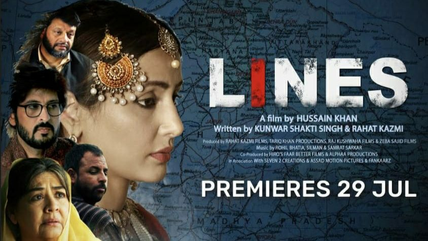 Hina Khan Lines Movie Voot Poster Watch Online Free Download