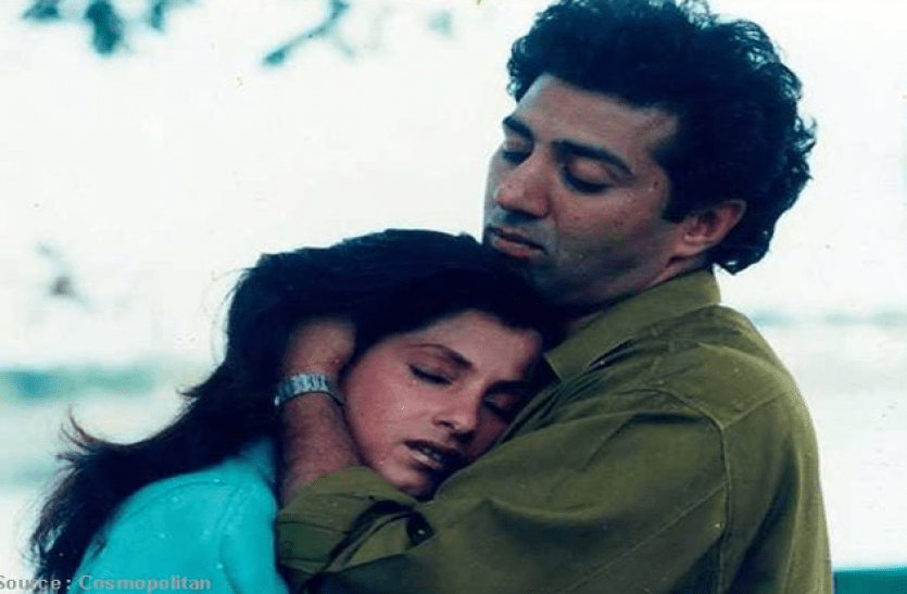 Sunny Deol and Dimple Kapadia Relationship