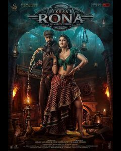 Vikrant Rona Movie 2021 Poster Full Movie Hindi Dubbed Watch Online Free Download