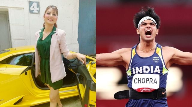 Actress Urvashi Rautela congratulated Neeraj Chopra on winning India's 1st gold medal at the Tokyo Olympics for Javelin Throw, Photos, Videos, Full Movie Watch Online Free Down Load Leaked By Tamilrockers, Down Load Torrent Telegram File Link