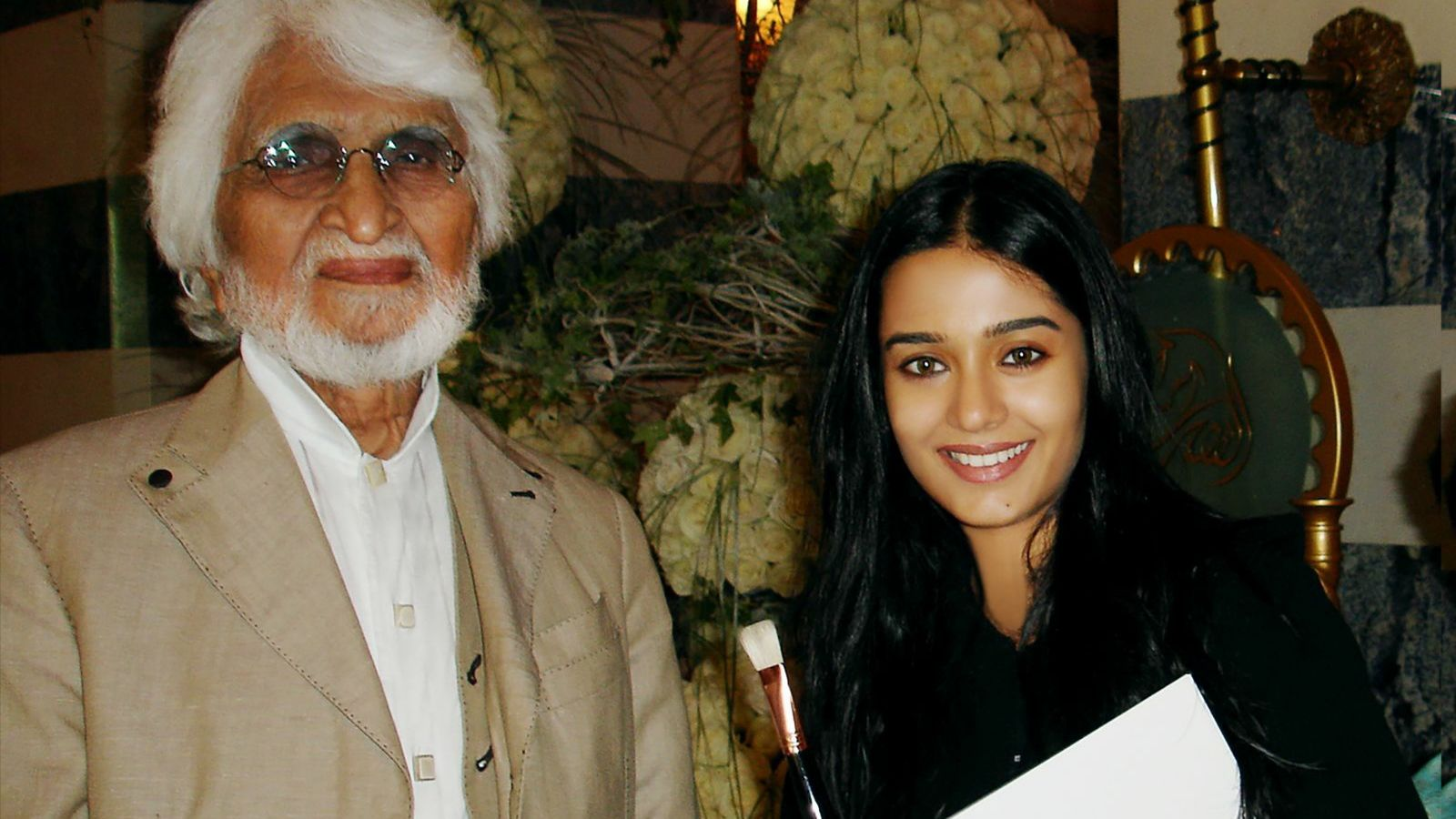 Amrita Rao today remembers MF Hussain's special gift to her on his 106th birthday