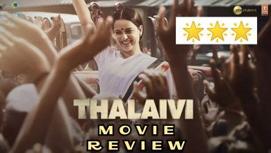 Thalaivii : Movie Review - Kangana Ranaut and Arvind Swami rocks but the movie does not because of non-cinematic & unconventional life of Jayalalithaa., Photos, Videos, Full Movie Watch Online Free Down Load Leaked By Tamilrockers, Down Load Torrent Telegram File Link