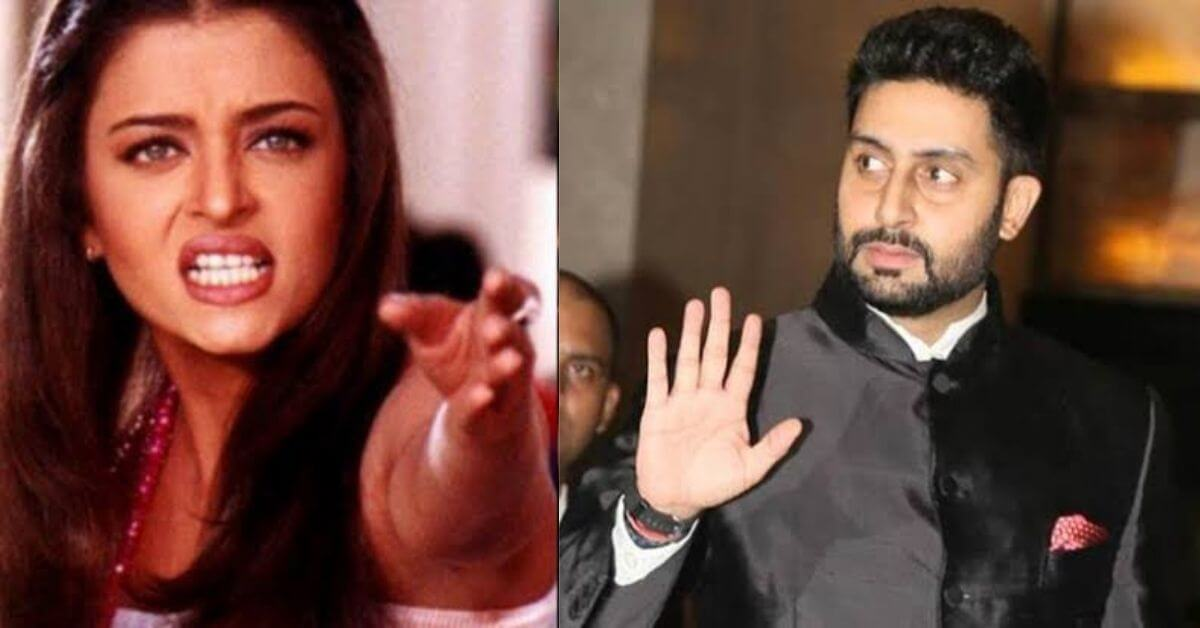 Aishwarya Rai was shocked by an act of Abhishek Bachchan, was thrown from the bedroom